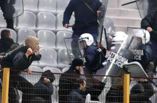 Zenit St. Petersburg v Moscow violence 2