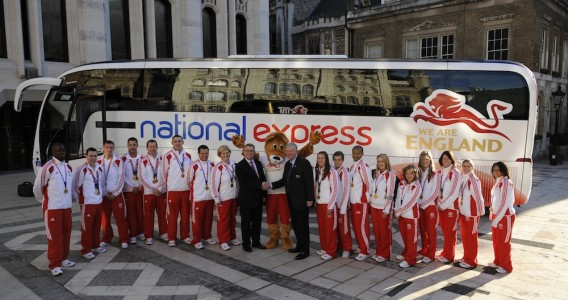 CGE sealed a new long-term partnership with National Express in the run up to Glasgow 2014