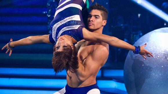 Louis Smith in Strictly Come Dancing