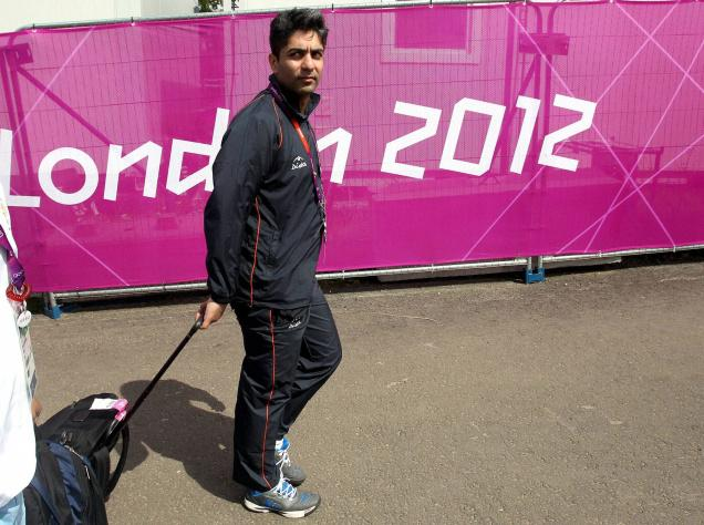 Abhinav Bindra London 2012