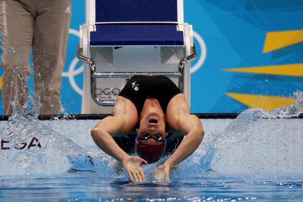 Gemma Spofforth July 29 100m backstroke London 2012