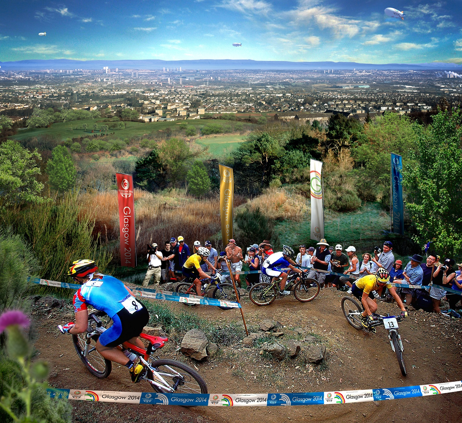 Glasgow 2014 mountain bike course