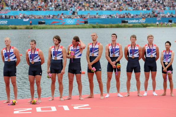 Great Britain mens eight rowing