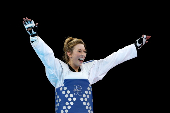 Jade Jones of Great Britain London 2012 womens taekwondo final