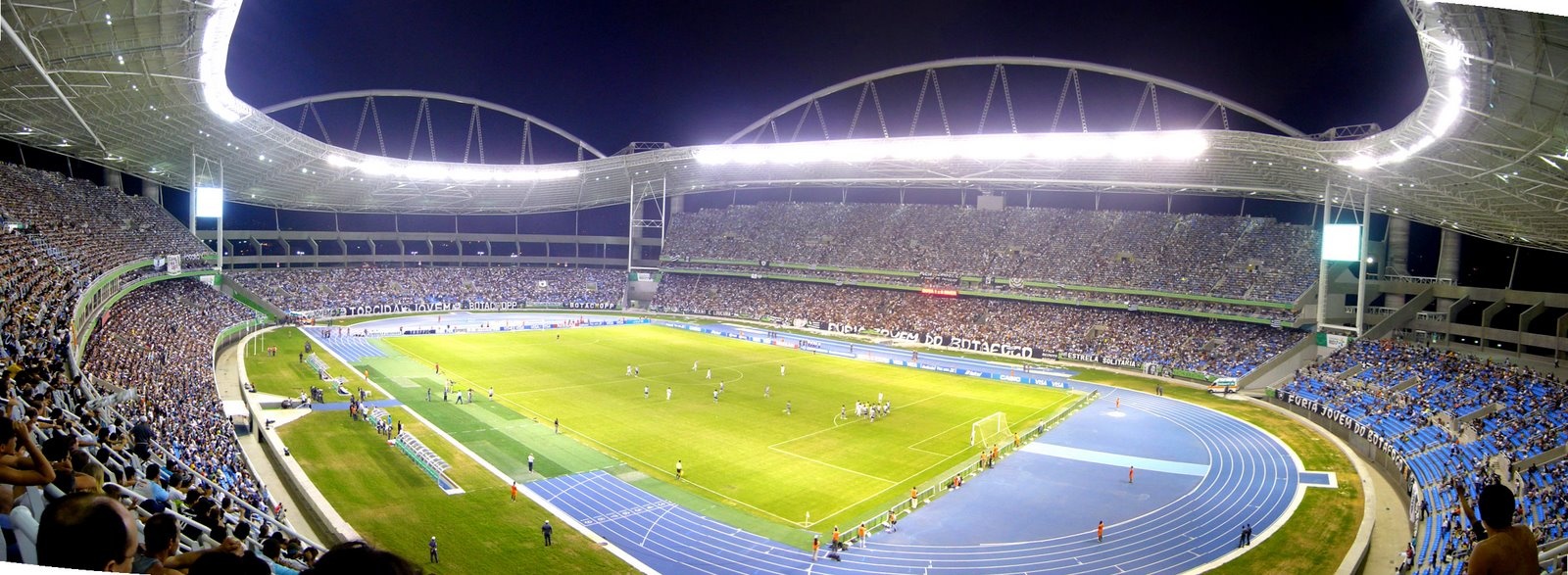 João Havelange Stadium at night