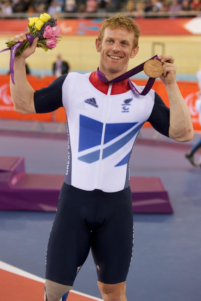 Jody Cundy medal