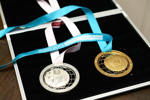 Kazan 2013 medals