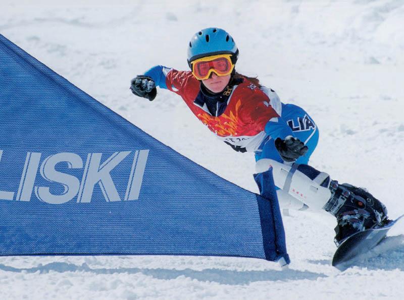 Liski snowboarding
