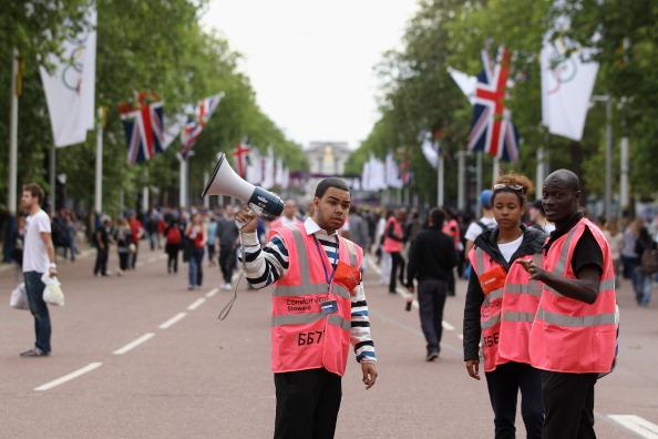 London 2012 stewards