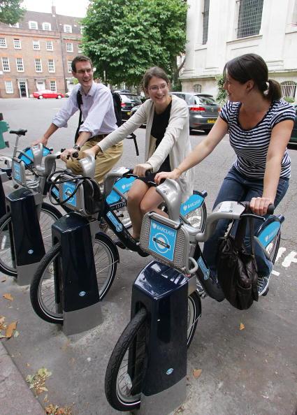 London Cycle Hire bicycle scheme London 2012