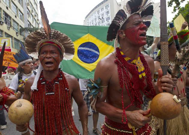 Maracana protest Rio December 1 2012