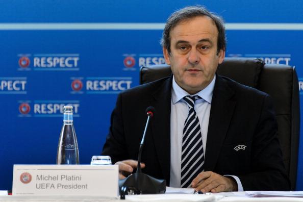Michel Platini Lausanne December 6 2012