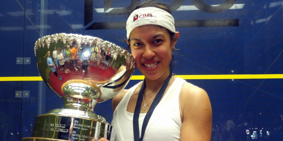 Nicol David Womens World Open squash