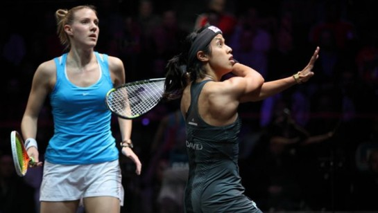 Nicol David vs Laura Massaro