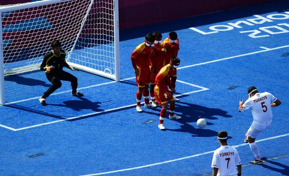 Paralympics London 2012 football
