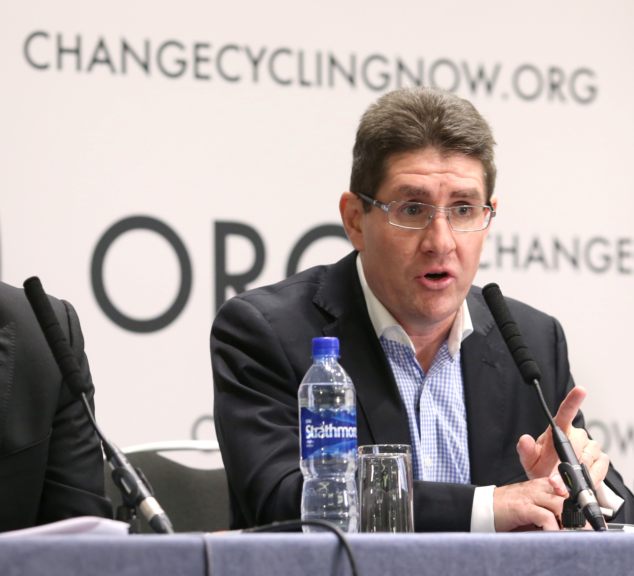 Paul Kimmage at Change Cycling Now press conference December 2012