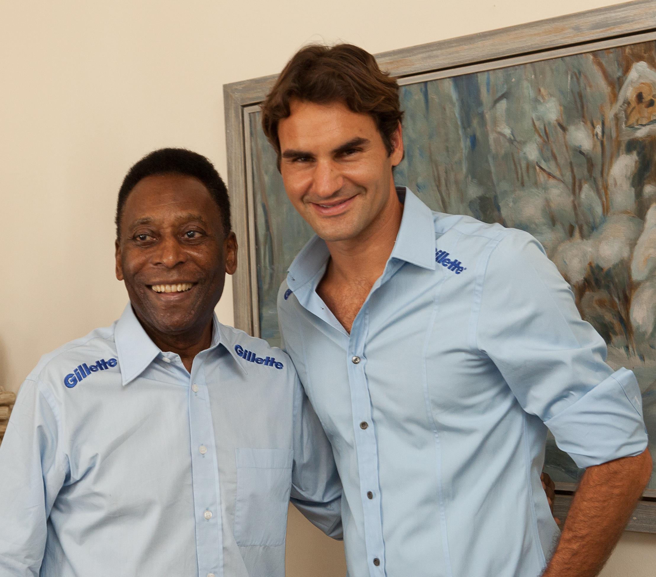Pele and Federer