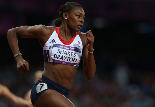 Perri Shakes-Drayton of Great Britain
