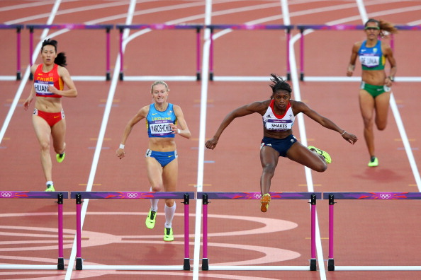 Perri Shakes-Drayton of Great Britain London 2012