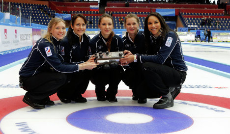 Russian women curlers with European title December 15 2012