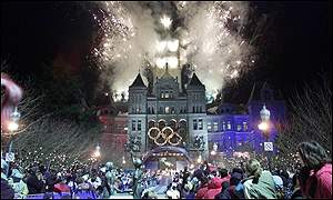 Salt Lake City Olympics 2002