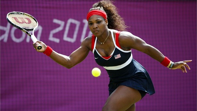 Serena Williams London 2012