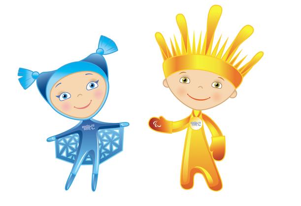 Sochi 2014 Paralympics mascots