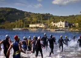 Strathclyde Loch swim