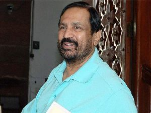 Suresh Kalmadi head and shoulders