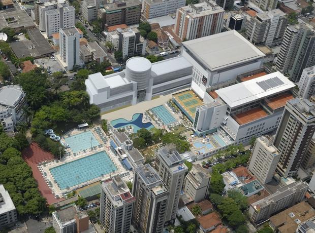 Team GB Rio 2016 training camp Minas Tênis Clube Belo Horizonte