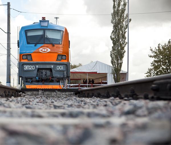 Transmashholding and Alstom EP20 train