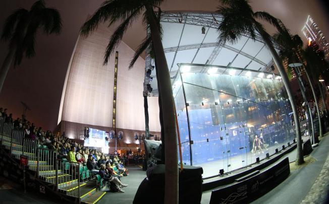 Tsim Sha Tsui Culture Centre court