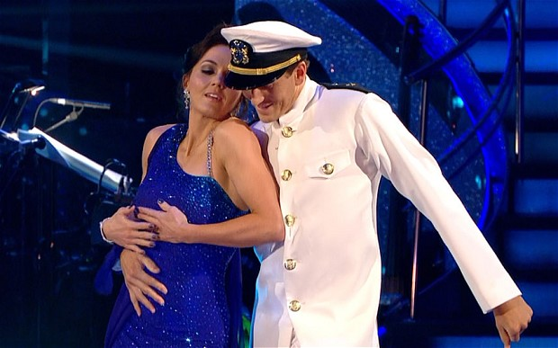 Victoria Pendelton and Brendan Cole Strictly Come Dancing