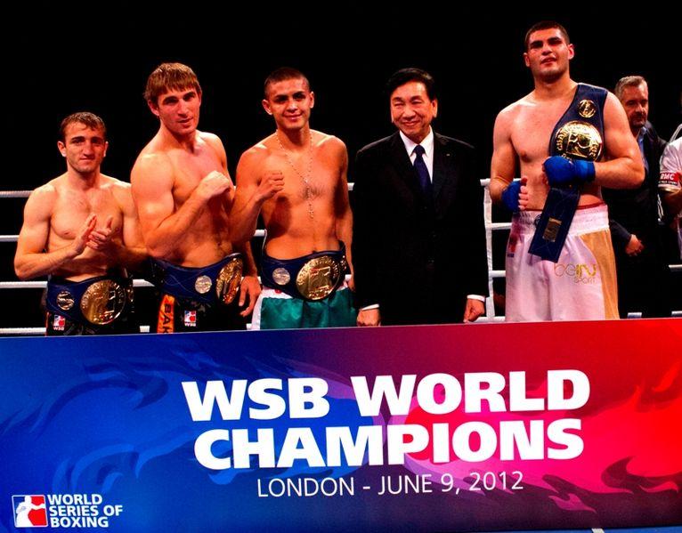 WSB world champions 2012