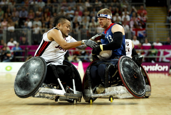 Wheelchair rugby London 2012