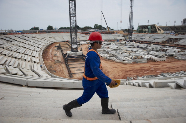 Workman at Manaus