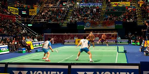World Superseries badminton Hong Kong