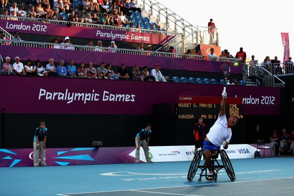 london 2012 wheelchair tennis