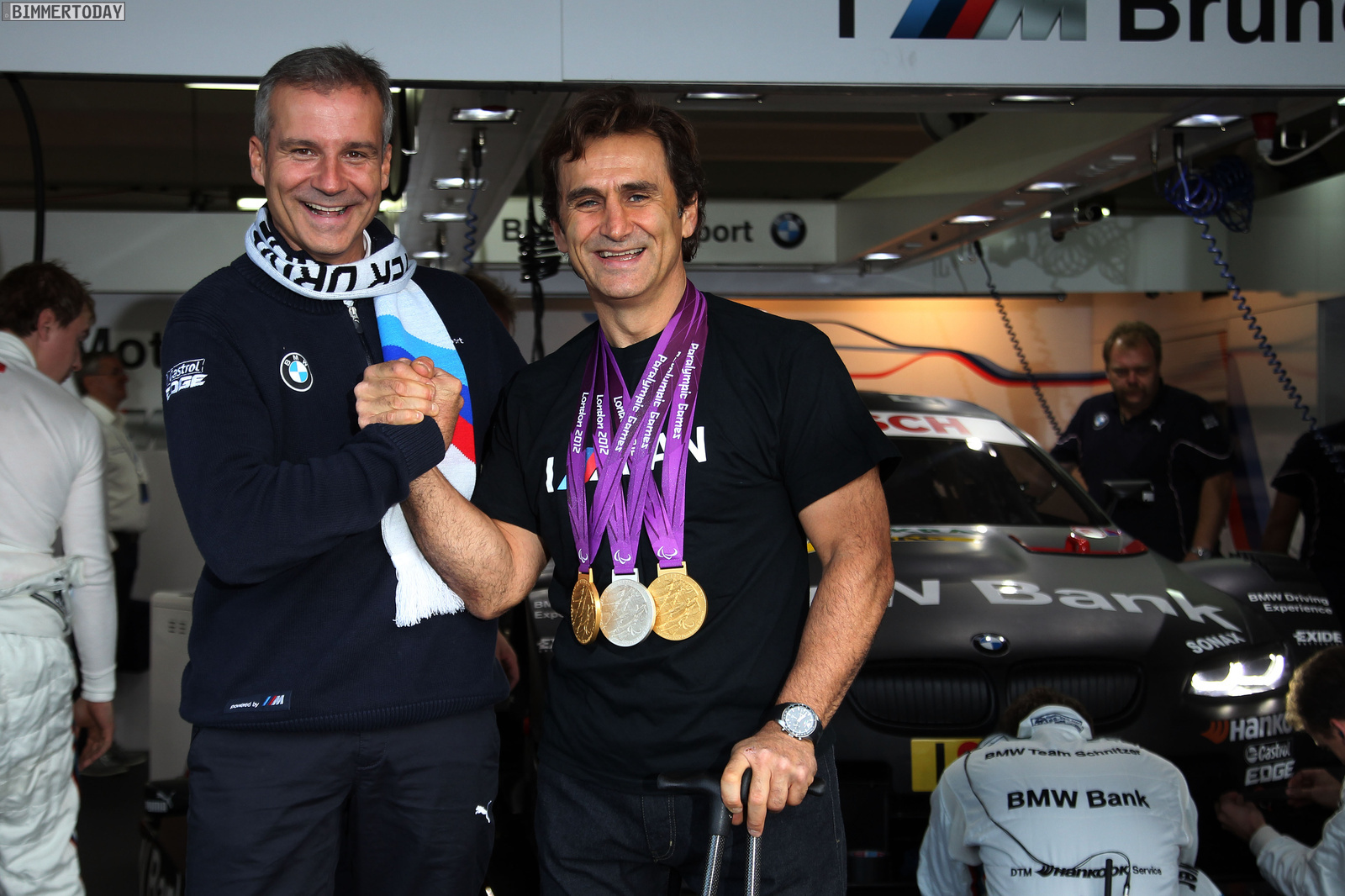 Alex Zanardi with BMW