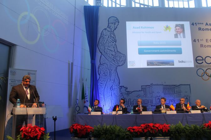 Azad presents Baku 2015 bid 2