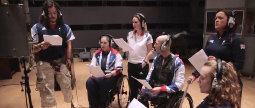 British Paraorchestra athletes