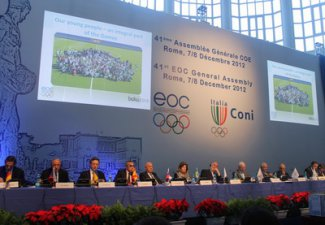 EOC 41st General Assembly top table