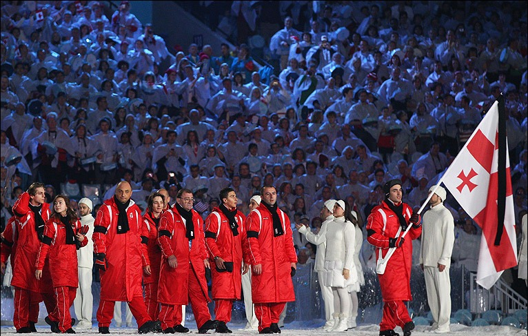 Georgia at Vancouver 2010 Opening Ceremony