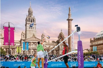 Glasgow 2018 beach volleyball