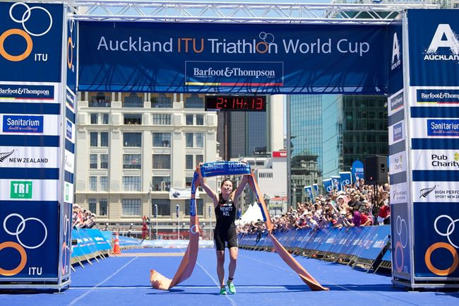 ITU World Triathlon Series Grand Final in Auckland