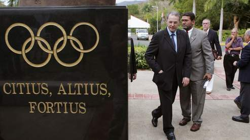 Jacques Rogge by Olympic motto