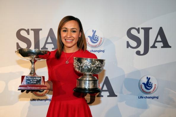 Jessica Ennis SJA Awards December 6 2012