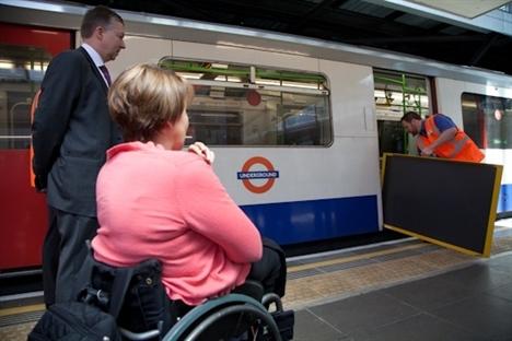 London Transport manual ramps for tube