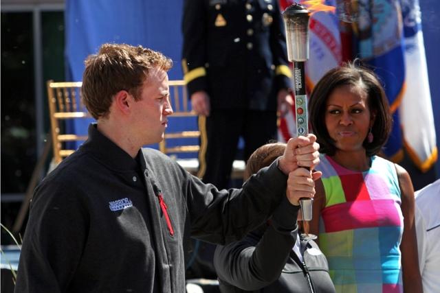 Michelle Obama opening 2012 Warrior Games