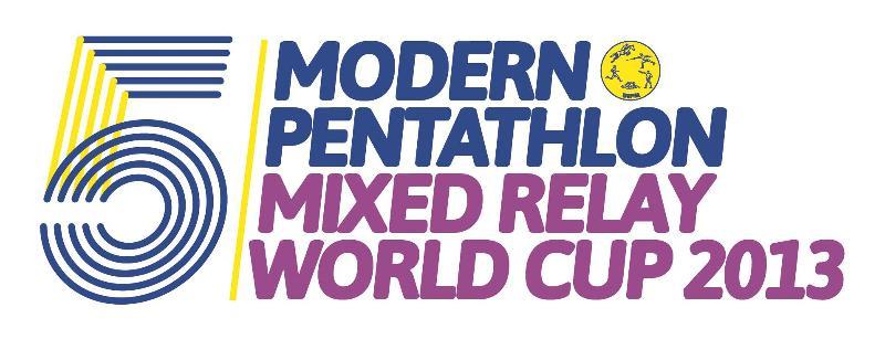 Modern pentathlon mixed relay series 2013